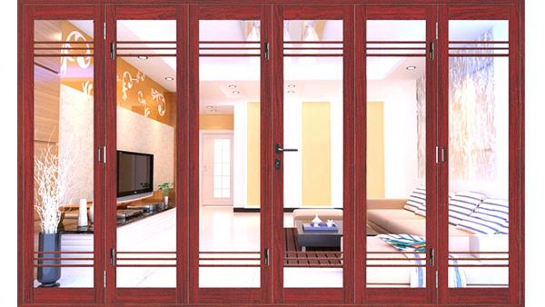cửa xingfa vân gỗ